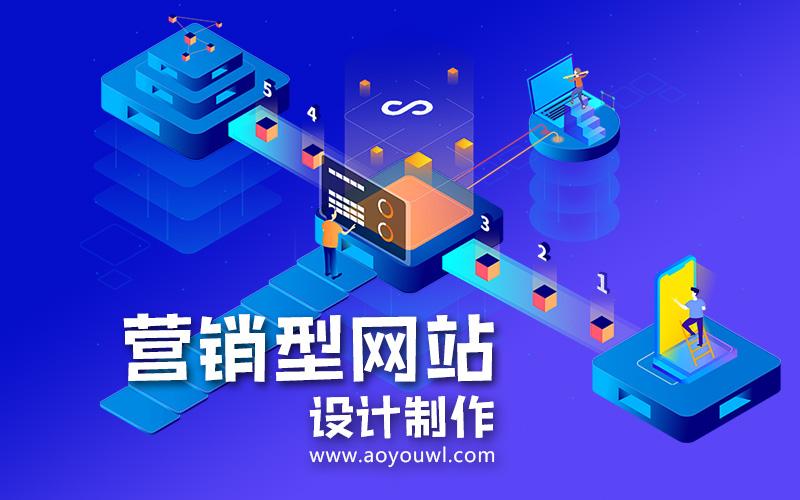 營銷型網站設計制作